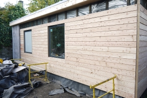 Cladding of Scots  Larch